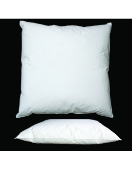 Square natural pillow 65 x 65