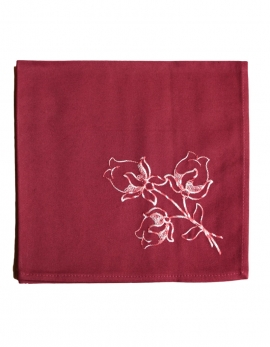 Serviette LOTUS / PRUNE
