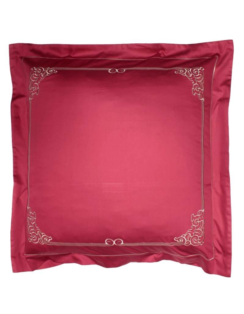 taie d 39 oreiller brod e alta 65x65 satin de coton made in france. Black Bedroom Furniture Sets. Home Design Ideas
