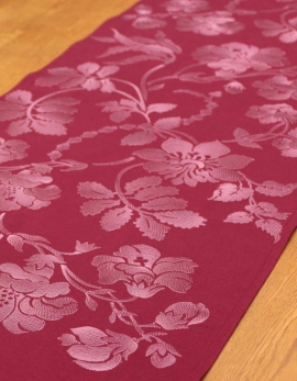 Table runner ANA MARIA / PLUM