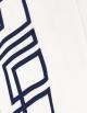 Housse de couette BLUE NIGHT N°17 satin de coton et ruban bleu nuit fabriqué en France