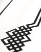 Drap plat NIGHT&DAY N°24 satin de coton et ruban noir fabriqué en France