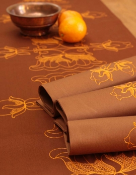 Table runner LOTUS / RUSTY