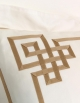 Square pillowcase GOLD N°24