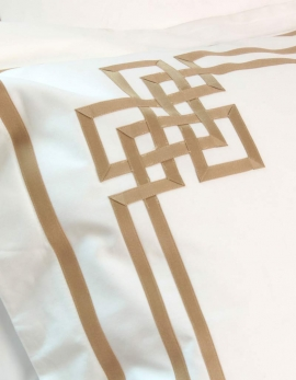 Rectangular pillowcase GOLD N°24