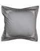 Square grey pillowcase Zen Garden
