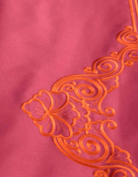 Top sheet FLOREAL / ORANGE