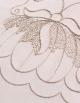Tête à tête Lotus / Bronze et ses deux serviettes